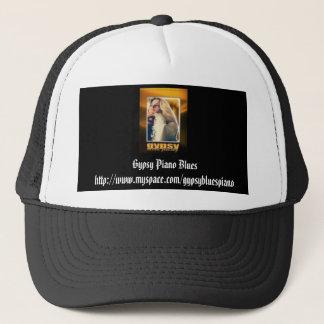 gypsypianoblues+rollwithmebabylivetrio2, Gypsy ... Trucker Hat