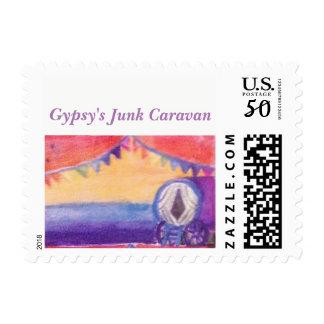 Gypsy's Junk Caravan Stamps
