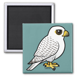 Gyrfalcon 2 Inch Square Magnet