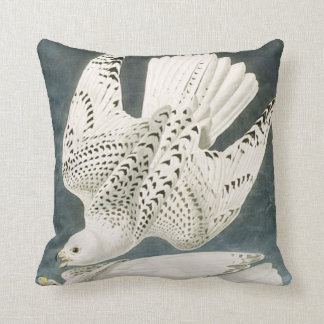 Gyrfalcon Bird Throw Pillow