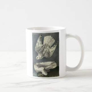Gyrfalcon by Audubon Coffee Mug