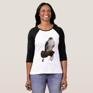 Gyrfalcon on Glove T-Shirt