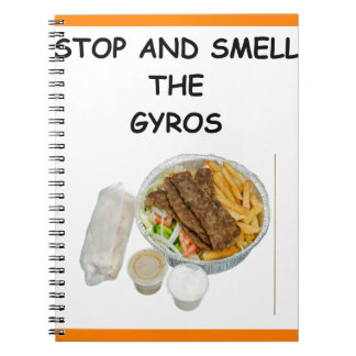 GYROS NOTE BOOKS