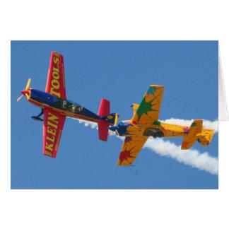 Gyroscopic Aerobatics Card