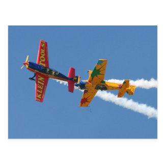 Gyroscopic Aerobatics Postcard