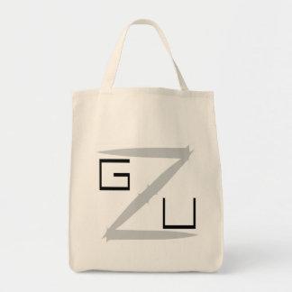 GZU Pointes Ecriture noire Tote Bag