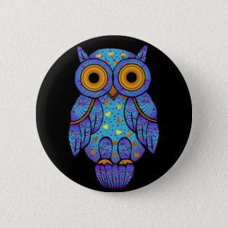 H00t Owl Midnight Madness Button