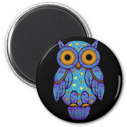 H00t Owl Midnight Madness Magnet