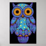 H00t Owl Midnight Madness Print