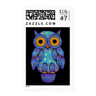 H00t Owl Midnight Postage