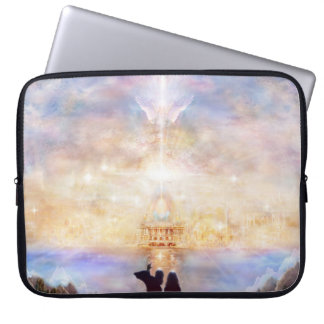 H010 Welcome Home Computer Sleeve
