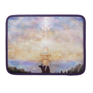 H010 Welcome Home Sleeve For MacBook Pro