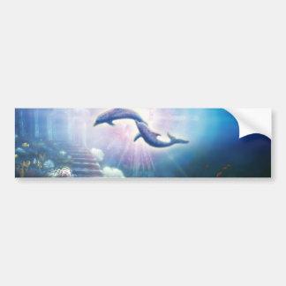 H019 Nori Dolphins Bumper Sticker