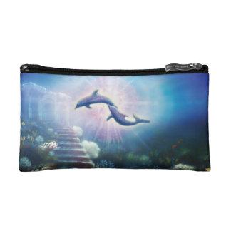 H019 Nori Dolphins Makeup Bag