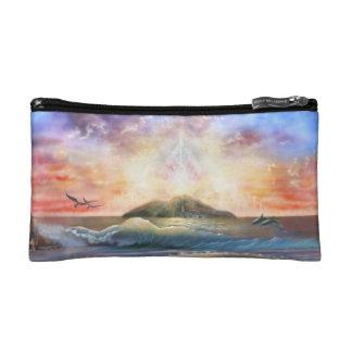 H026 Enchanted Isle Cosmetic Bag
