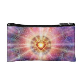 H034 Radiant Heart Makeup Bag