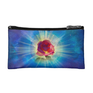 H035 Rose Wings Makeup Bag