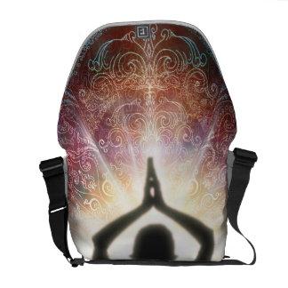 H067 Mandala Salutation 2013 Courier Bag