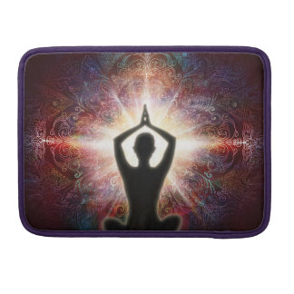 H067 Mandala Salutation 2013 MacBook Pro Sleeve