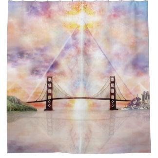 H073 New Horizon Shower Curtain