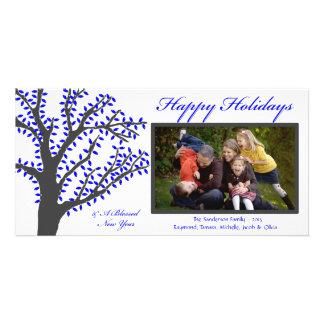 H1 Tree Lights-Royal Christmas Photo Card