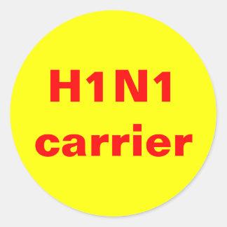 H1N1 carrier Sticker