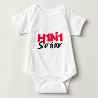 H1N1 Survivor Gear Baby Bodysuit