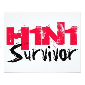 H1N1 Survivor Gear Card