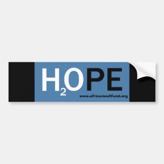 H20PE bumper sticker Car Bumper Sticker
