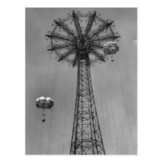 <h2>Coney Island Amusement Park Rides</h2> <br> Es Postcard