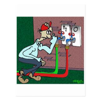 H2 & O Faucets Postcard