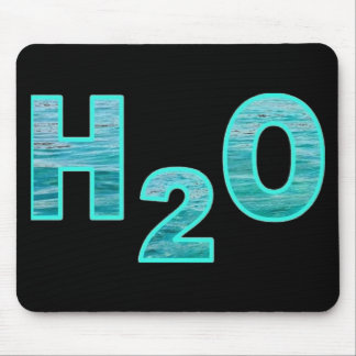 H2O Black Mouse Pad