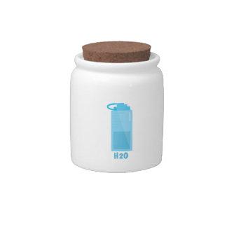 H2O Bottle Candy Dish