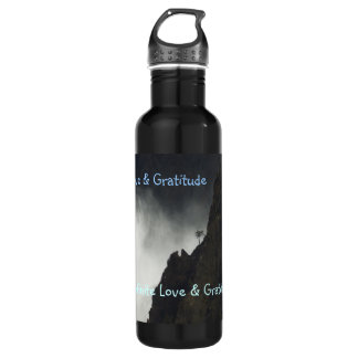 H2o Bottle- Love & Gratitude Water Bottle