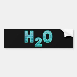 H2O BUMPER STICKER