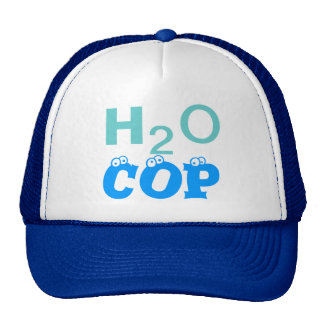 H2O COP - Customizable Cap Mesh Hats