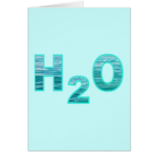 H2O Custom Greeting or Note cards
