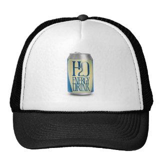 h2o energy drink trucker hat