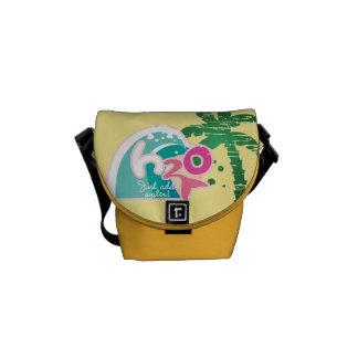 H2O Logo Messenger Bag