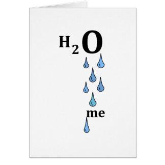 H2O me Card