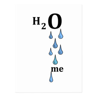 H2O me Postcard