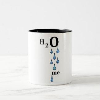 H2O me Two-Tone Coffee Mug