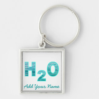 H2O Personalized Keychain
