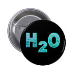 H2O PINBACK BUTTONS
