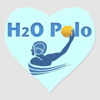 H2O Polo Heart Sticker