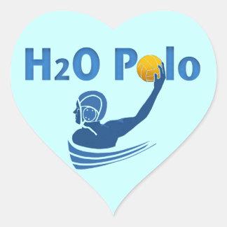 H2O Polo Heart Sticker