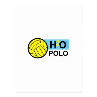H2O POLO POSTCARD