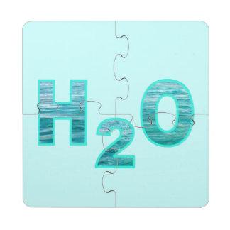 H2O POSAVASOS DE PUZZLE