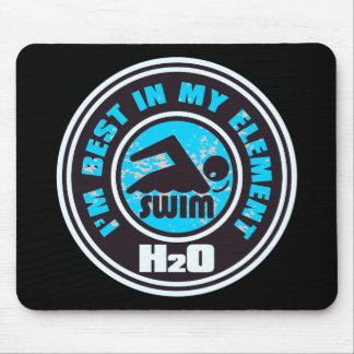 H2O_SWIMMER MOUSE PAD