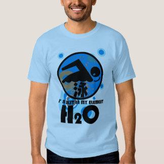 H2O_SWIMMER TEE SHIRT